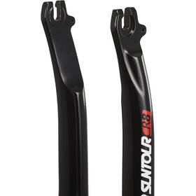 "SR Suntour CR-8V mtb geveerde vork sl 255mm, 1 1/8"" a-head zwar"